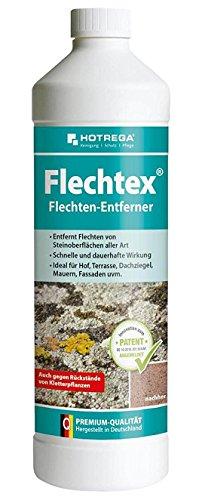 HOTREGA Flechtex Flechten Entferner 1 Liter, Pilz-Entferner, Algen-Enferner, Flechtenentferner, Algenentferner