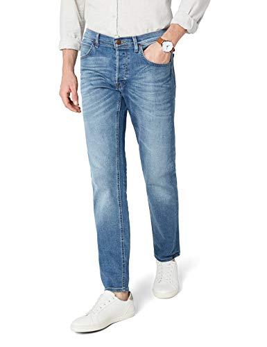 Lee Herren Daren Straight Jeans, Blau (Fresh Kiup), W28/L32 -