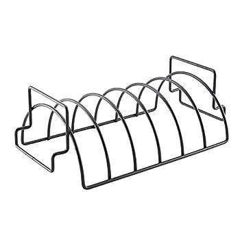 Lembeauty Antihaft-grill Rib Rack Wendbar Braten Net Steak Rack Für Holzkohlegrills Raucheron Top Of Gas Grillen 3