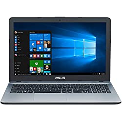 "ASUS D541NA-GQ264T - Ordenador Portátil de 15.6"" HD (Intel Celeron N3350, 4 GB RAM, 500 GB HDD, Intel HD Graphics 500, Windows 10 Home) Plateado - Teclado QWERTY español"