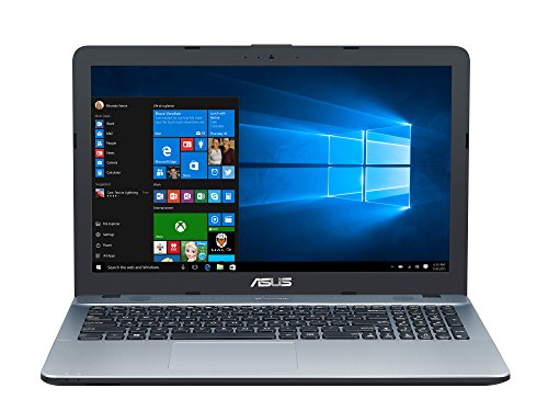 "ASUS D541NA-GQ264T - Ordenador portátil de 15.6"" (Intel Celeron N3350, 4 GB de RAM, disco duro HDD de 500 GB, Intel HD Graphics 500, Windows 10 Original) Plateado degradado - teclado QWERTY español"