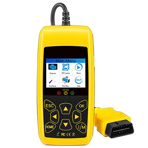 Cosay CS520 EOBD CAN-Bus Reader Scan Tools Automotive Engine Code Reader Scanners Digital Diagnostic Tool