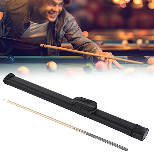AYNEFY Pool Cue Case Soft Pool Cue Bag 1X2 Pool Cue Biliardo Stick Custodia Biliardo Accessori Nero per lamante del Biliardo