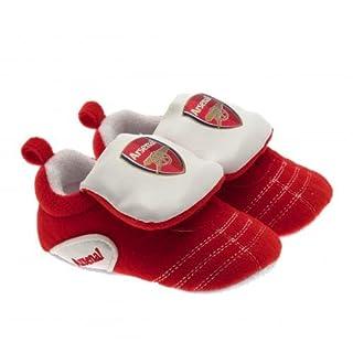 Klettverschluss Crib Shoes–Arsenal F.C (6/9Monate)