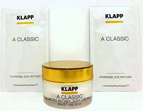 Klapp: Micro Retinol Soft Cream 30ml und 2x2 Hydrogel Eye Patches