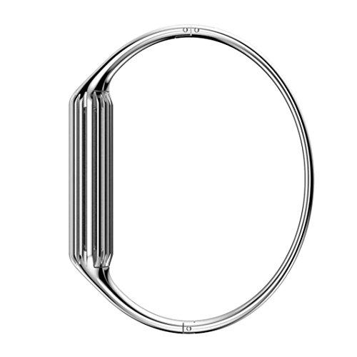 Loveblue for Fitbit Flex 2 Sport Watch Band, New Fashion Accessory Bracelet Bangle for Fitbit Flex 2(Silver)