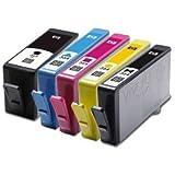 5 Compatible HP 364XL Multipack High Capacity Printer Ink Cartridges For Photosmart B109a B109n B109d B109f B110a B110c B110e B111 B210a B210c B211 C410 C410b C309a C309n C309g C310a B209a B209c B010a B8550 B8553 C5324 C5380 C5383 C5390 C6300 C6324 C6380 D5400 D5460 5510 5515 6510 7510, Chipped, Ready for use