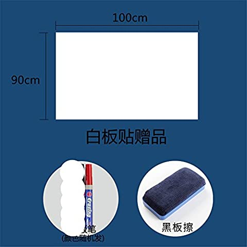 Whiteboard Wall Stickers graffiti Wall Stickers blackboard office school Training teaching erasable Whiteboard wall film wallpaper