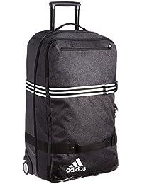 Adidas Team Travel Trolley X-Large Luggage - Black/Black/White, X-Large, 42 x 73 x 29 cm