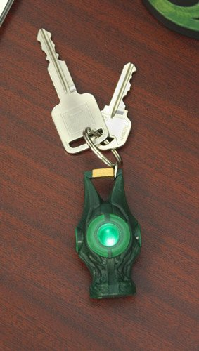 Green Lantern Light Up Laterne Schlüsselanhänger