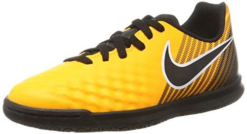 Nike Unisex-Kinder Jr. Magistax Ola II IC Fußballschuhe, Orange (Laser Orange/Black-White-Volt), 37.5 EU (Orange Nike-schuhe Für Kinder)