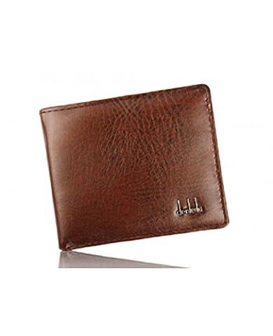 Business Leather Wallet ID Credit Card Holder Pocket Purse For Men