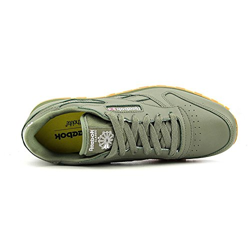 Reebok Classic Cuir Baskets Green-Gum