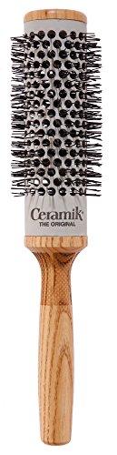 Tek Ceramik spazzola per capelli professionale in ceramica diametro 36mm - Handmade in Italy