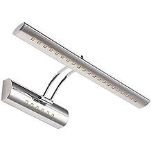 Dailyart 5w 27LEDs blanco frío Led Espejo Luz de pared apliques Espejo de baño Lámpara