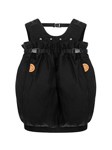 """Weego Babytragesack Modell #322 TWIN \""""Simply Black\"""", speziell für Zwillinge ab einem Gewicht von 1800g"""