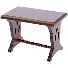 Escala 1:12 Casa De Muñecas Mesa Auxiliar Muebles En Miniatura
