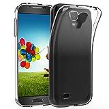 JETech Cover per Samsung Galaxy S4, Morbido Trasparente Custodia con Assorbimento Degli Urti, HD Chiaro