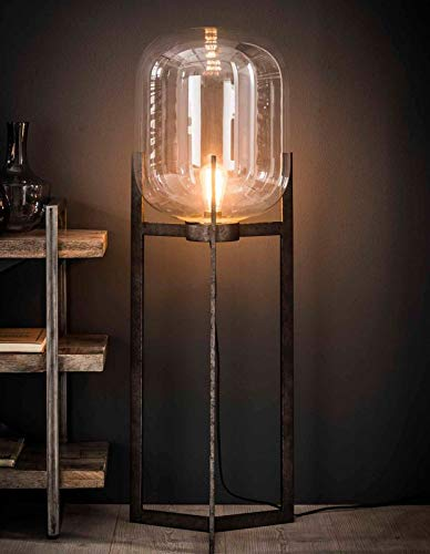 Stehleuchte Zijlstra Glasglocke 7419/29 Dreibein Standlampe Vintage