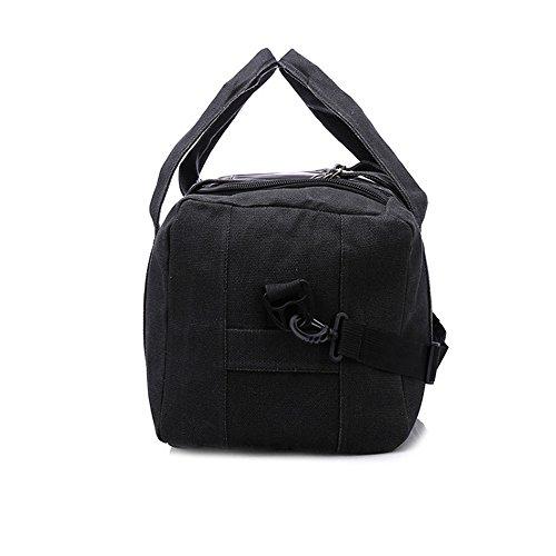 große speicherkapazität canvas - tasche handtasche tasche,armee grün b schwarz
