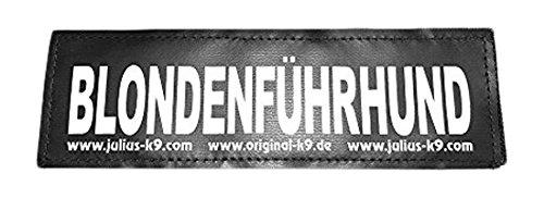 Julius K9 8151515 2 Klettsticker L. Blondenführhund