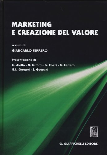 Marketing e creazione del valore