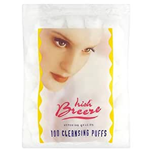Irlandais Breeze coton Puffs 100 par paquet