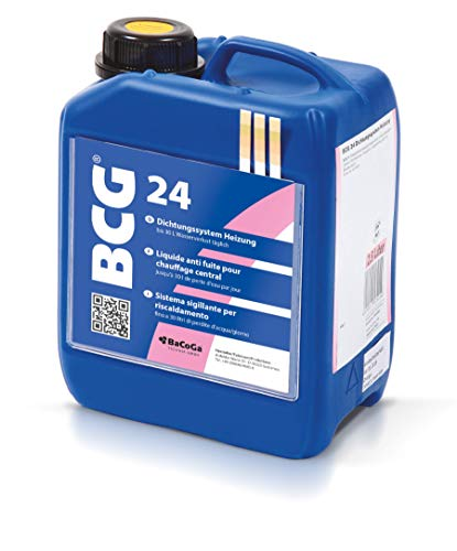 BCG 24 (2,5 l) gegen Leckagen in Rohrleitungen von Heizungen ()