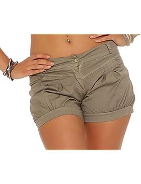 malito Pantaloncini in Universal-Colore Estat-Pantaloncini 6088 Donna
