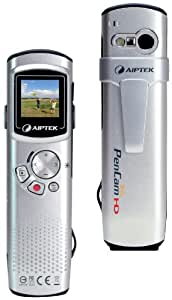 Aiptek PenCam Trio HD Camcorder 720p HD with Digital Camera and Voice Recorder - Silver