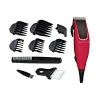 Remington HC5018 Professional Apprentice Corded Hair Clippers with 5 Comb Clips (Pack of 1)
