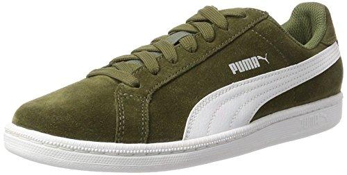 Puma Unisex-Erwachsene Smashsd Sneaker, Grün (Olive Night-White), 36 EU
