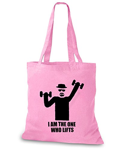 StyloBags Jutebeutel / Tasche I am the one who lifts Rosa