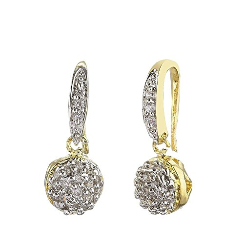 CARDINAL STYLISH PARTY WEAR TRADITIONAL AMERICAN DIAMOND EARRING FOR WOMEN/ GIRLS