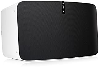Sonos Play:5 WLAN Speaker, weiß - Kraftvoller WLAN Lautsprecher mit bestem, kristallklarem Stereo Sound - AirPlay kompatibler Multiroom Lautsprecher (B01615UVQU) | Amazon Products