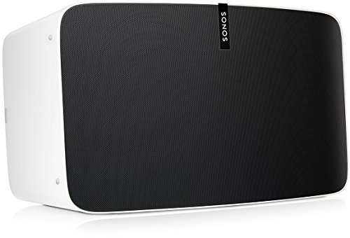 Sonos Play: 5 altavoz wifi - altavoz inteligente compatible con Apple AirPlay...
