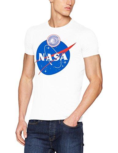 Brands In Limited Men's NASA Insignia Logo T-Shirt