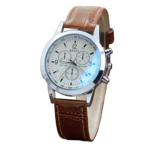 Obestseller Armbanduhren für Herren Gürtel Sport Quarz Stunde Armbanduhr Analog Chronograph Business Analog Quarz Armband Uhr für Männer