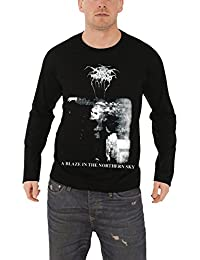 Darkthrone T Shirt A Blaze In The Northern Sky Nue offiziell Herren Long Sleeve