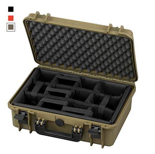 TAF Case 400 CAM - Outdoor Kamerakoffer Staub- und wasserdicht, IP67 Olive - Cami Olive