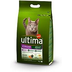 Ultima Pienso para Gatos Esterilizados Adulto con Salmón - 3000 gr