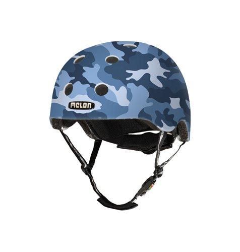 Melon Camouflage Fahrradhelm, Camouflage Blue Matt, XL/XXL