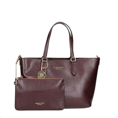 Scervino Street SCBLD0000404 Shopper Donna Pelle Bordeaux Bordeaux TU