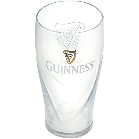 Nueva Guinness Relieve Vaso de Cerveza