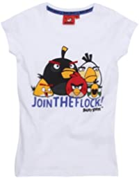 Angry Birds - T-Shirt - Cintré - Fantaisie - Fille