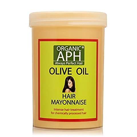 Organic APH Hair Mayonnaise Treatment With Pure Olive Oil