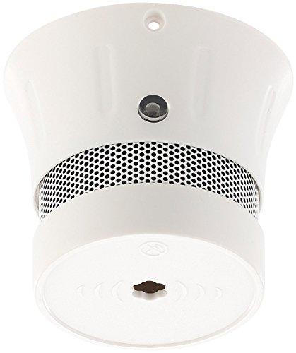 VisorTech Design Rauchmelder Mini: Mini-Design-Rauchwarnmelder mit 10-Jahres-Batterie, 85 dB, EN...