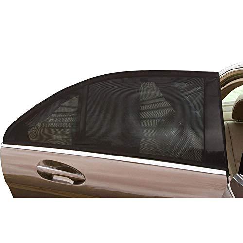 YMYP08 Schutzhülle Auto-Seitenscheibe Ineinander Greifen-Abdeckung, Auto-Fenster Baby-Sonnenschutz, Schützen Sie Ihr Kind, Geeignet for Mehr Als 99% Der Automodelle - 2 Stück