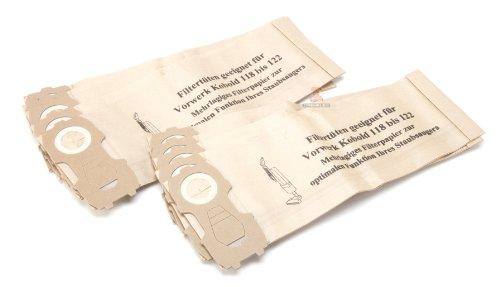 DREHFLEX®-10sacchetti per aspirapolvere/sacchetti in carta per Vorwerk