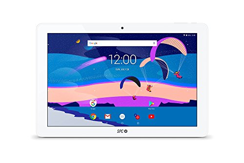 Tablet SPC Gravity con schermo IPS HD di 10.1 pollici, Memoria RAM di 3GB e Interna di 32GB